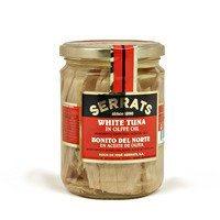 White Albacore Tuna Fillets in Olive Oil, 14 oz.