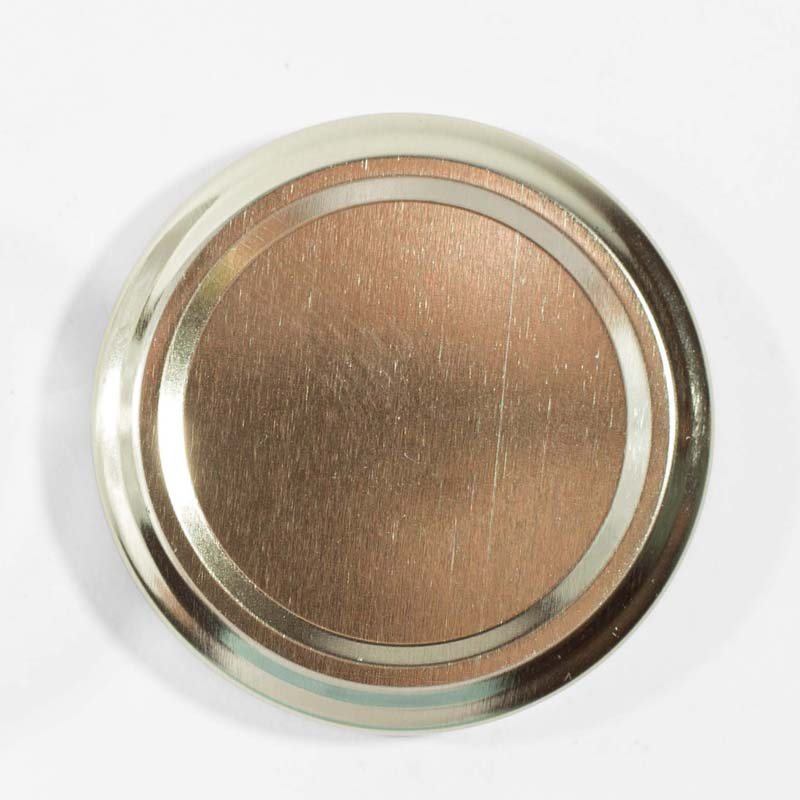 Caviar Pack: Cover ‐ Lid (63 mm.) for 1.75 oz. jars