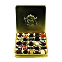 Leonidas Assorted Chocolate Gold Tin 25 pcs.