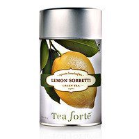 Tea Forte Lemon Sorbetti - Green Tea - Loose Tea 2.12 oz. Organic