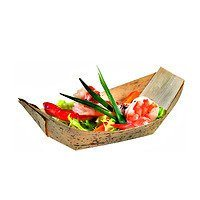 "Bamboo Leaf Boat 7.8"" x 5"" x 2"" - Set of 1000 (1 case)"
