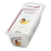 French Frozen Fruit Puree, Pineapple 2.2 lb. Kosher