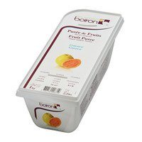 French Frozen Fruit Puree, Guava 2.2 lb. Kosher