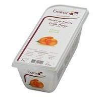 French Frozen Fruit Puree, Apricot 2.2 lb. Kosher
