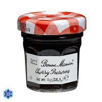 Bonne Maman Cherry Preserve - 1 oz x 60 (1 case) Kosher