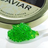 Tobiko Wasabi, Flying Fish Roe Caviar