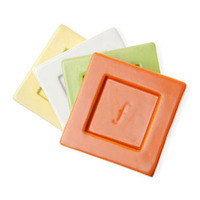 Tea Forte Tea Trays - Terra Cotta - 2 pcs