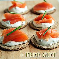Salmon Mix Gift Set, 5 pcs