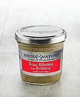 Trout rillettes in Breton Style, 3.5 oz/ 100 ml