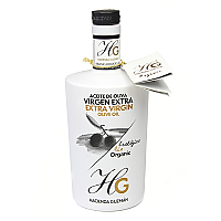 Hacienda Guzman Bio olive oil: EVOO Coupage Organic, 17 oz/500 ml
