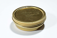 French Gold Vacuum Tin Bottoms 30 gr.