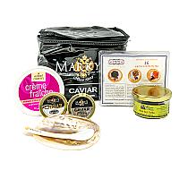Gourmet Caviar Gift Basket