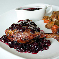 Duck with Cherry Set, 2 pcs