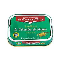 Sardines in Extra Virgin Olive Oil, 3.5oz.