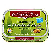 3.5oz Small Sardines in EVOO