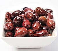 10kg. Kalamata Olives Pitted, Naturally Ripened, Plastic Keg