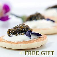 Karat Osetra Caviar Gift Set, 5 pcs.