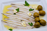 Pickled Anchovy Fillets with Olive Oil 0.4 lb.